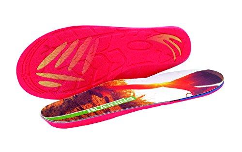 Kaps Running, solette per scarpe professionali per corsa, comfort e protezione contro gli infortuni, Multicolore (Multicolour), 40 2/3 EU