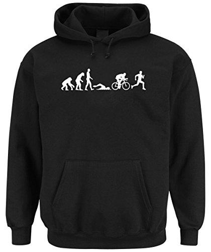Triathlon Evolution Hooded Sweater Nero Certified Freak-L