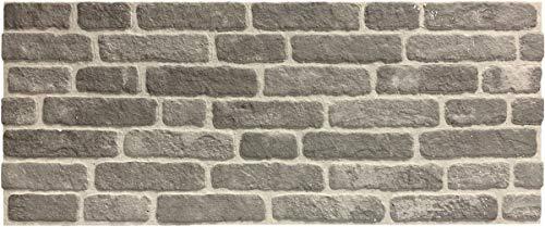 Wandverkleidung in Steinoptik für Schlafzimmer, Wohnzimmer, Küche und Terrasse in Klinkeroptik Look. (ST 351-128)
