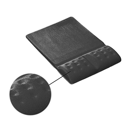 Niocase Handgelenkstütze Mauspad, Gaming Office Memory Foam Handgelenkkissen Dicke Bequeme Laptop Computer Mauspad