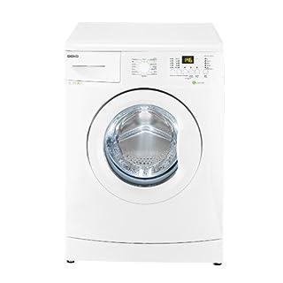 Beko WML 61432 MEU Waschmaschine FL / A++ / 164 kWh/Jahr / 1400 UpM / 6 kg / weiß / Mengenautomatik / Einsatz für Flüssigwaschmittel