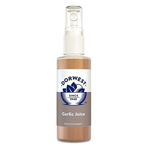 (Dorwest Kräuter) Saft Knoblauch Spray 125ml für Hunde und Katzen