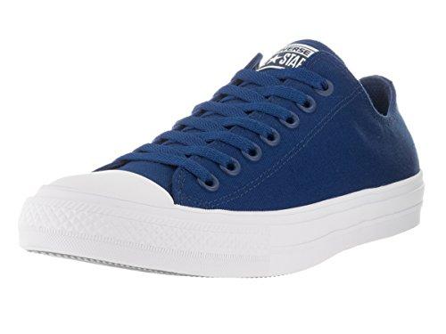 Converse Chuck Taylor All Star II C151089, Baskets Basses Mixte Adulte, Noir, Regular Bleu