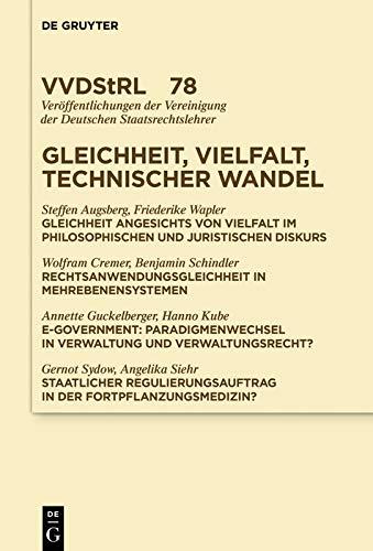 Gleichheit, Vielfalt, technischer Wandel (Veröffentlichungen der ...