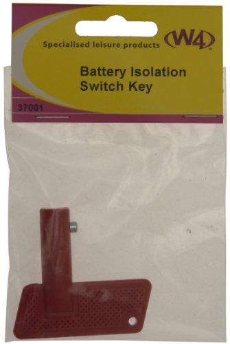 Preisvergleich Produktbild W4 Schlüssel für Akku Isolation Schalter – rot