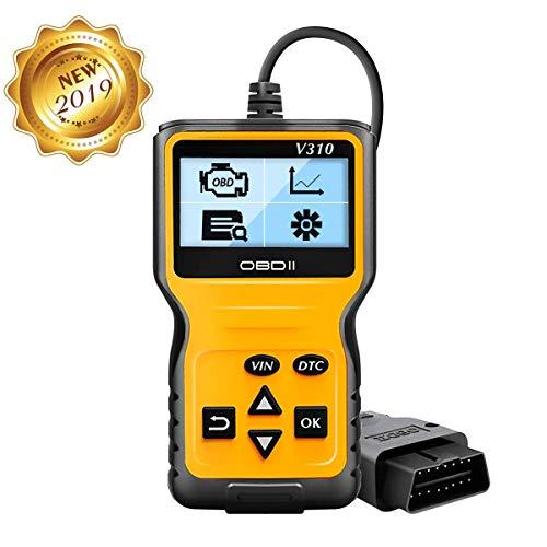 Preisvergleich Produktbild JIANCE OBD2 Diagnosegerät,  OBD2 für Autos ab 1996 mit OBD2 EOBD CAN Modi KFZ Motor Fehlercodeleser Lesen und Lschen Fehlercode 16-Pin OBDII-Schnittstelle DTC Handscanner