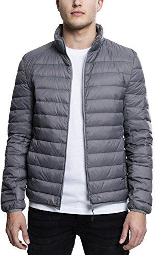 Urban Classics Herren Jacke Basic Jacket, Grau (Darkgrey), Small