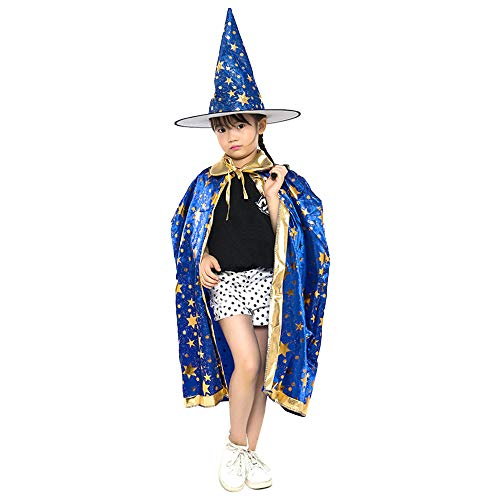 ZooBoo Halloween Hexen Umhang Kostüm - Anziehende Kinder -