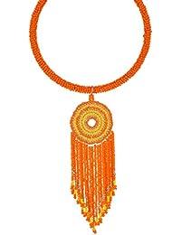 GMQHD - Gargantilla de borlas de Bohemia Africana para Mujer, Juego de joyería de Moda