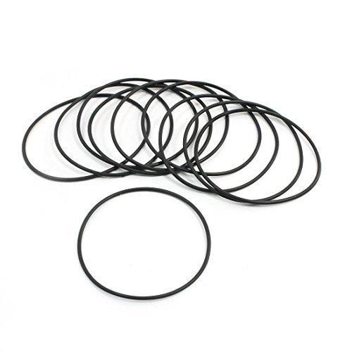 Preisvergleich Produktbild 10 Stück Flexible Gummi-Dichtung Ölfilter O-Ringe Dichtungen 50 x 47 x 1,5 mm
