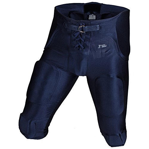 """Active Athletics """"All In One"""" Gamehose Spandex 7 Pads, Football Padded Pant 