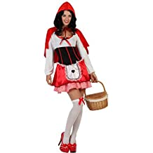 Atosa - 22239 - Disfraz - Disfraz De Caperucita Roja - Adulto - Tamaño 2