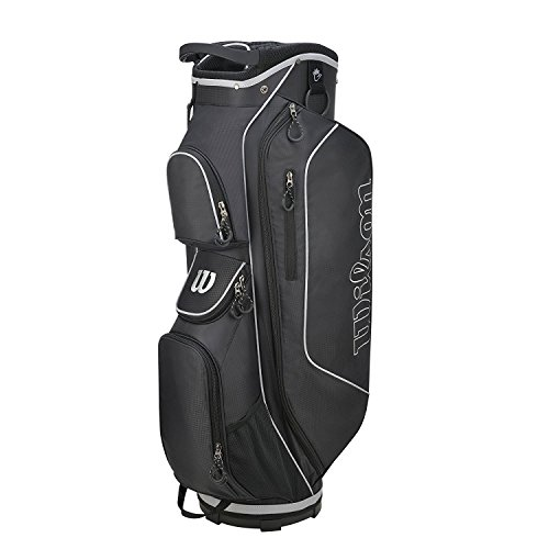 Wilson Golf WGB5306BL Sac Chariot Homme, Noir/Argent, Taille...