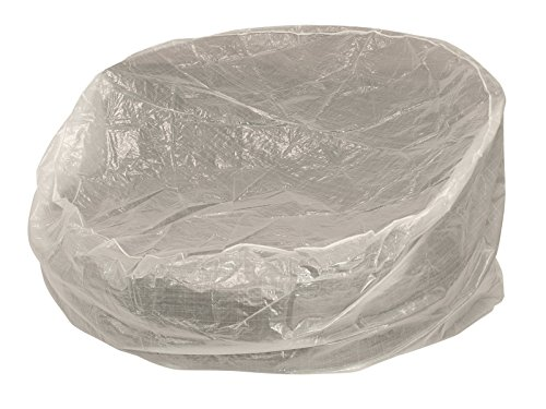 DEGAMO Abdeckhaube für Relaxinsel Gross 240cm rund, PE transparent