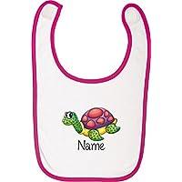 Ihrem Wunschnamen Schildkröte Kinder Latzschürze mit tollen Motiven inkl