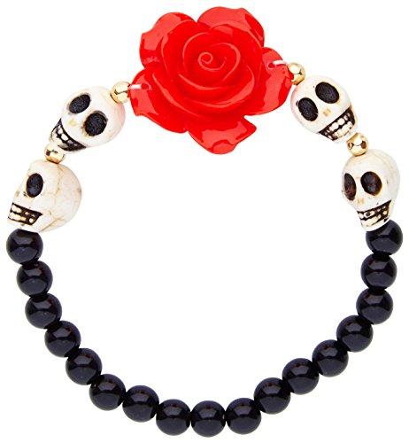 Widmann–Armband mit rosa und Skulls Womens, mehrfarbig, One -