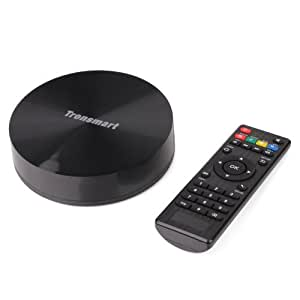 Tronsmart Vega S89 Android TV BOX Amlogic S802 Quad Core Smart TV Set-top Box Mini PC Stream Media Player 2.0GHz 2G / 16G Dual Band WIFI 2.4G / 5G Bluetooth4.0 XBMC Blu-Ray (Standard Version (2G+16G)) Size: Standard Version (2G+16G) Consumer Portable Electronics/Gadgets