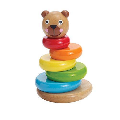 Manhattan Toy Manhattan Toy Brilliant Bear Magnetic Stack up