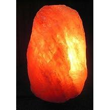100% Genuino Natural terapeútica del Himalaya Roca De Sal Lámparas (8-12kg)