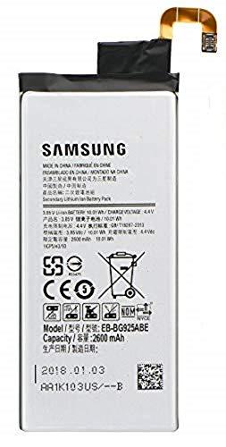 SPES Original Ersatz Akku für Samsung Galaxy S6 Edge G925F Batterie 2600mAh EB-BG925ABE/Werkzeug-Set