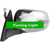 GOWE cromo espejo 9 cables eléctricos Fold calor ajustar Turning Light Triton pastilla de copia de