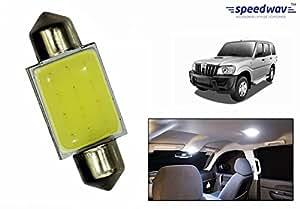 Speedwav Car Roof LED SMD Light WHITE-Mahindra Scorpio Type 2 (2008-2014)