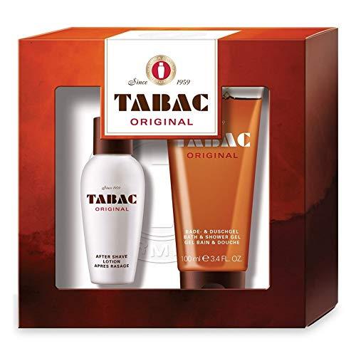 TABAC Coffret pour Homme Original Duo Lotion Après Rasage + Gel Douche 50 ml