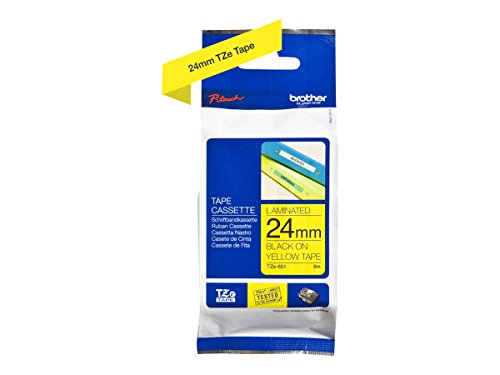 Brother Original P-touch Schriftband TZe-651 (kompatibel mit Brother P-touch P700,- 2430, -D600, -9700PC, -P750W) -