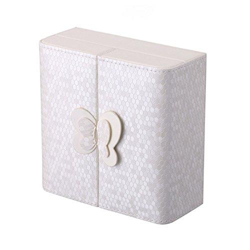 cozyswan petit bo te bijoux de voyage en cuir portable papillon d coration afficher stockage. Black Bedroom Furniture Sets. Home Design Ideas