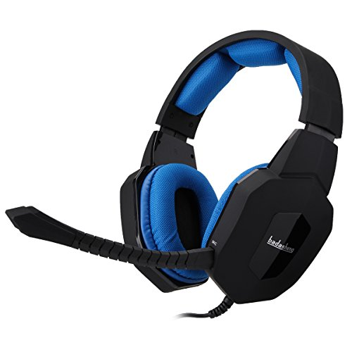 Multifunktions Xbox 360Gaming-Headset mit abnehmbaren Mikrofon, kompatibel mit Xbox One, PS4/3, PC (Multifunktions-pc)