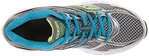 Saucony , Damen Leichtathletikschuhe Grey/Blue/Citron