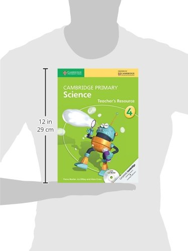 Cambridge Primary Science Stage 4 Teacher's Resource Book with CD-ROM (Cambridge International Examinations)