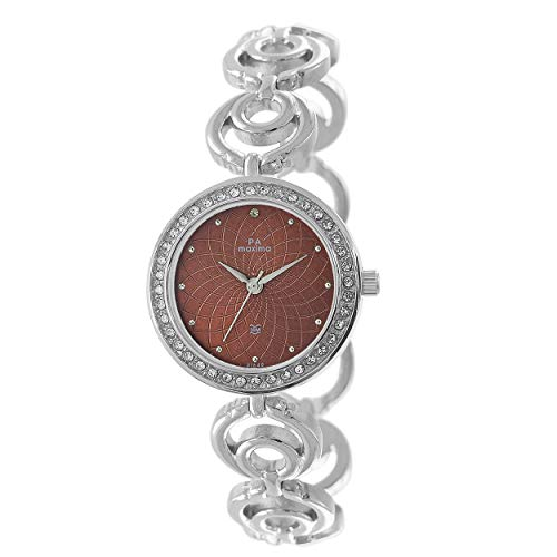 MAXIMA Analog Beige Dial Women's Watch - 51840BMLI