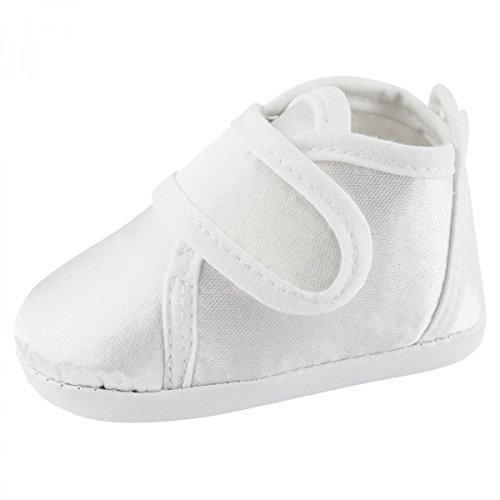 Toma Festliche Baby Taufschuhe Babyschuhe Junge Mädchen Babytaufschuhe Weiß Größe 13cm (Mädchen Größe 1 Cowboy Stiefel)