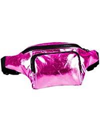 Bum Bag fanny Pack Festival Money Waist Pouch Travel Canvas Belt Grunge Neon a79421b656adf