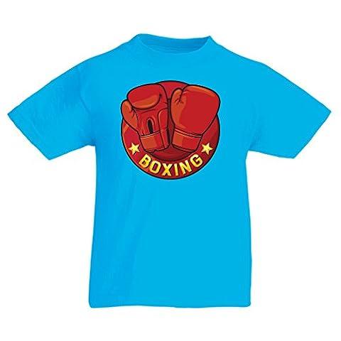 Maman Papa Fille Halloween - T-shirt pour enfants Boxe - MMA, Kickboxing,