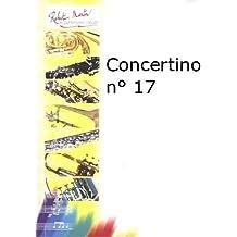 Partitions classique ROBERT MARTIN PORRET J. - CONCERTINO N17 Basson