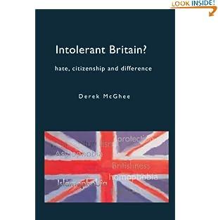 Intolerant Britain? Hate Citizenship and Difference: Hate, Citizenship And Difference (Paperback)