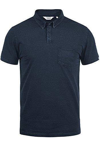 !Solid Pat Herren Poloshirt Polohemd T-Shirt Shirt Mit Polokragen Aus 100% Baumwolle, Größe:XXL, Farbe:Insignia Blue (1991)