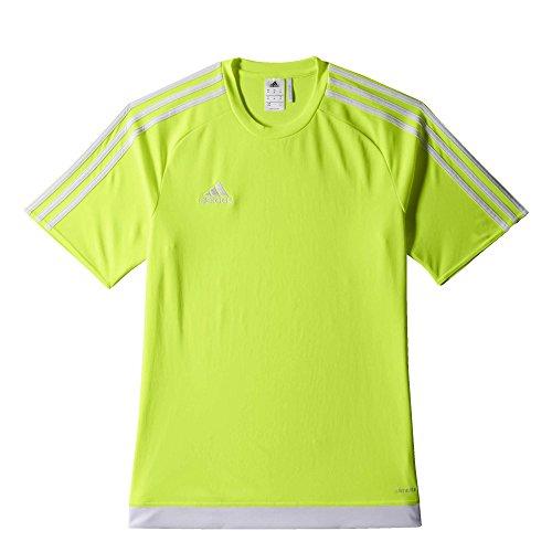 adidas Jungen Estro 15 Trikot, Solar Yellow/White, 152