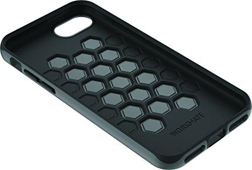Cygnett CY1967 WorkMate Pro Schutzhülle aus Kunststoff und Silikon für Apple iPhone 7 stoßfest, schlankes Design grau/schwarz grau/schwarz