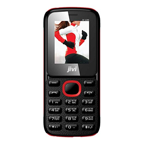 JIVI JV 12M (Black+Red)