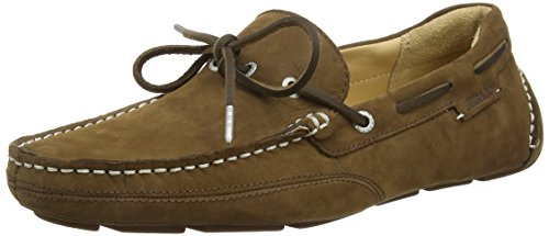 Cravatta Nubuck marrone Sebago Kedge Marron Homme Mocassini RAnWZH