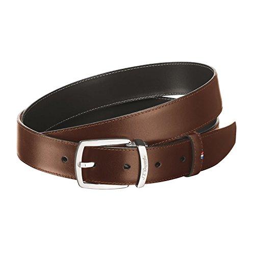 st-dupont-d-8200145-linea-d-reversible-marron-cinturon-negro