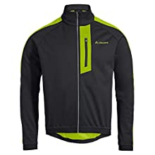 VAUDE Men's Posta Softshell Jacket V, Black/Chute, M
