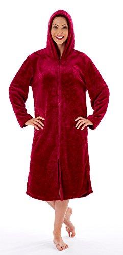 Inspirations - Robe de chambre - Femme Bordeaux