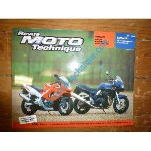 REVUE MOTO TECHNIQUE SUZUKI GSF1200 et GSX1200S BANDIT de 1996 à 2000 YAMAHA YZF600R THUNDERCAT de 1996 à 1997 RRMT0105.2 – Réédition
