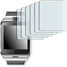 "6 x protectores pantalla Golebo para Aplus Gv18. Lámina protectora adhesiva invisible ""Crystal Clear"". Fabricado en Alemania."