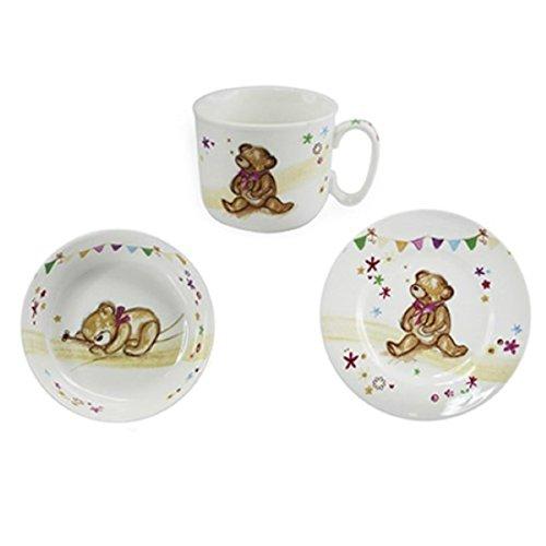 Lesser and Pavey - Little Treats Collection Little Bear Hugs Set de cadeau d'alimentation