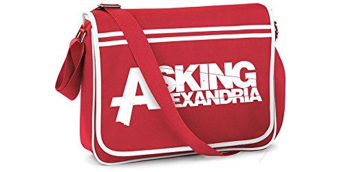 ASKING ALEXANDRIA Sac de coursier officiel Logo l'école
